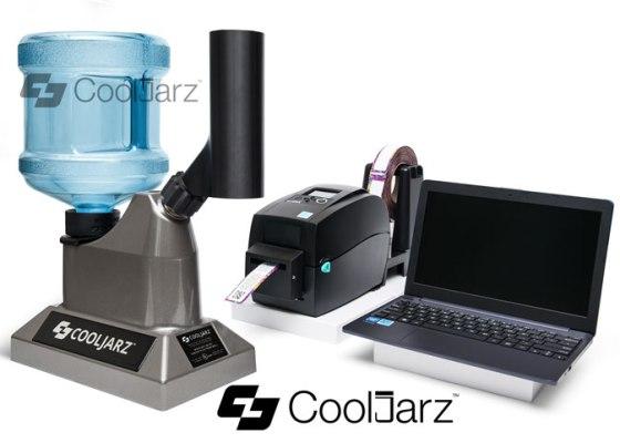 Cooljarz SST System Shrink Sleeve Steam Tunnel Machine for labels.