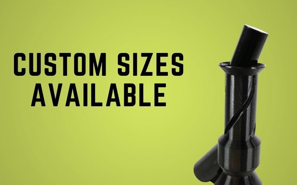 custom sizes available for shrink sleeve tunnel steam head