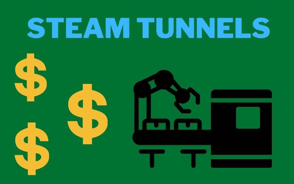 steam tunnel price cost