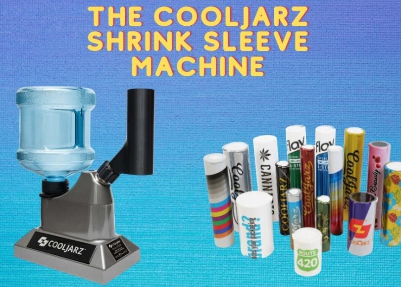 The CoolJarz Shrink Sleeve Machine applicator for shrink sleeve labels